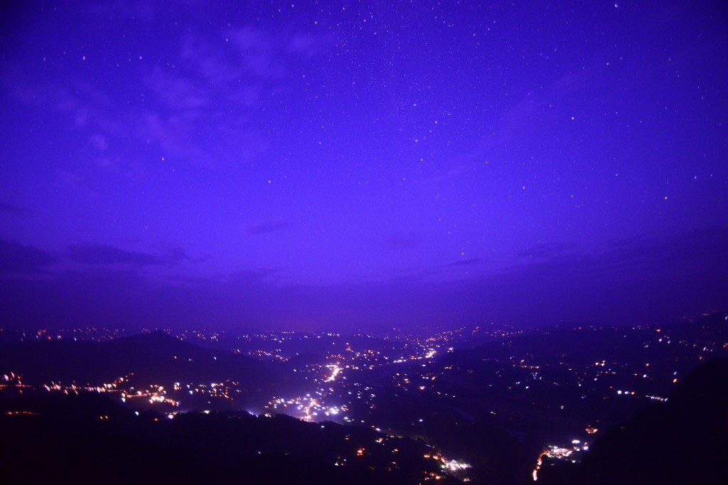 Nepal night sky